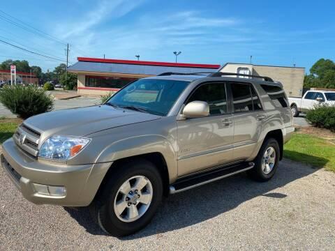 2004 Toyota 4Runner for sale at Robert Sutton Motors in Goldsboro NC
