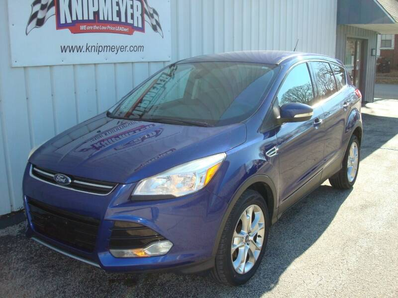 2013 Ford Escape for sale at Team Knipmeyer in Beardstown IL