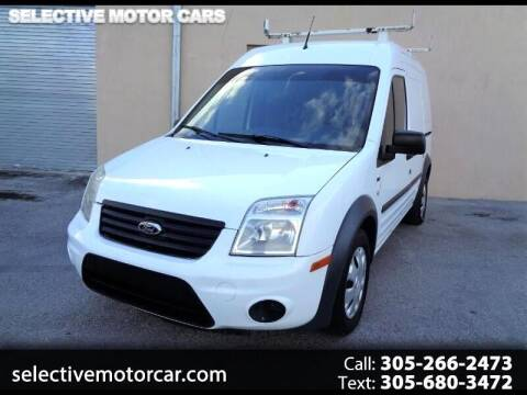 2013 Ford Transit Connect for sale at Selective Motor Cars in Miami FL