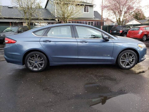 2018 Ford Fusion Hybrid for sale at Blue Line Auto Group in Portland OR