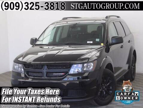 2020 Dodge Journey for sale at STG Auto Group in Montclair CA