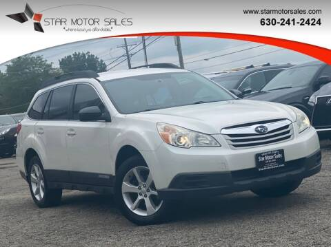 2011 Subaru Outback for sale at Star Motor Sales in Downers Grove IL