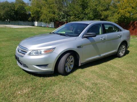 2011 Ford Taurus for sale at El Jasho Motors in Grand Prairie TX