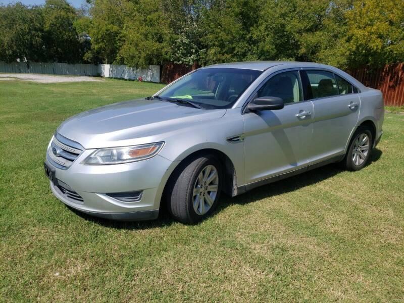 2011 Ford Taurus for sale at El Jasho Motors in Grand Prairie TX