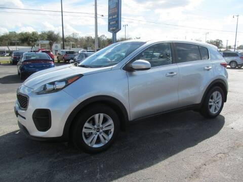 2017 Kia Sportage for sale at Blue Book Cars in Sanford FL