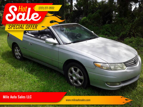 2003 Toyota Camry Solara for sale at Mile Auto Sales LLC in Holiday FL