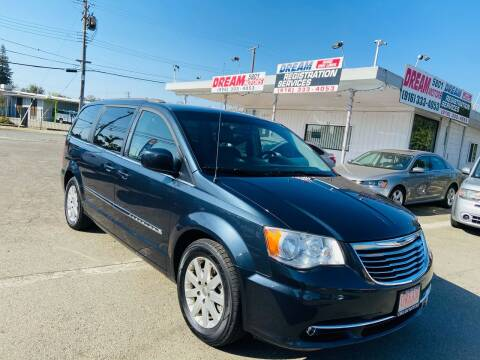 2014 Chrysler Town and Country for sale at Dream Motors in Sacramento CA