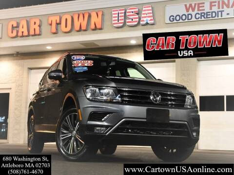 2018 Volkswagen Tiguan for sale at Car Town USA in Attleboro MA