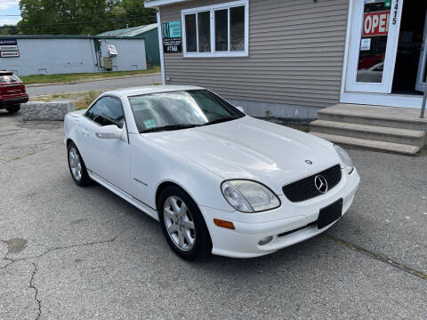 2003 Mercedes-Benz SLK for sale at Home Towne Auto Sales in North Smithfield RI