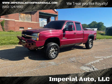 2004 Chevrolet Silverado 2500HD for sale at Imperial Auto, LLC in Marshall MO