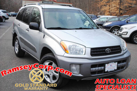 2002 Toyota RAV4 for sale at Ramsey Corp. in West Milford NJ