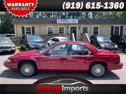 1994 Chevrolet Lumina for sale at Raleigh Imports in Raleigh NC