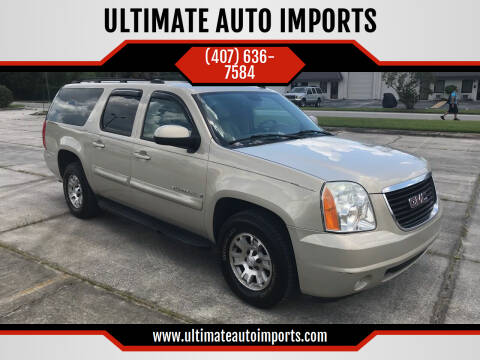 2007 GMC Yukon XL for sale at ULTIMATE AUTO IMPORTS in Longwood FL