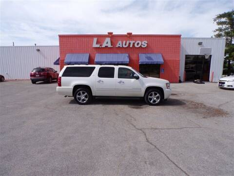 2011 Chevrolet Suburban for sale at L A AUTOS in Omaha NE