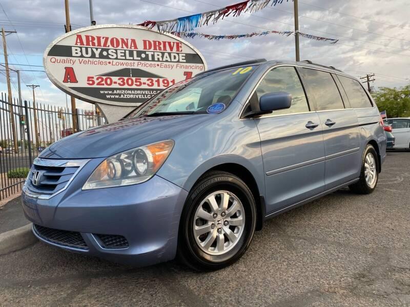 2010 Honda Odyssey for sale at Arizona Drive LLC in Tucson AZ