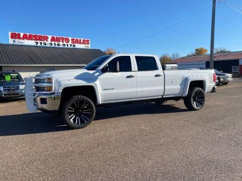 2015 Chevrolet Silverado 2500HD for sale at BLAESER AUTO LLC in Chippewa Falls WI