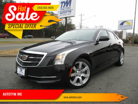 2015 Cadillac ATS for sale at AUTOTYM INC in Fredericksburg VA