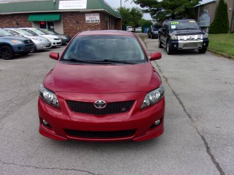 2010 Toyota Corolla for sale at Auto Sales Sheila, Inc in Louisville KY