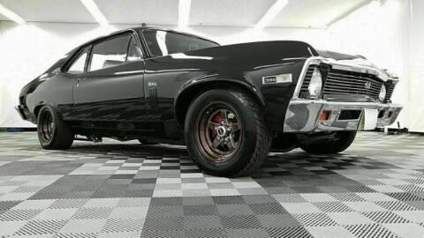 1969 Chevrolet Nova for sale at Classic Car Deals in Cadillac MI