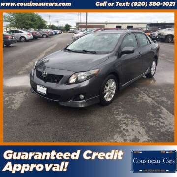 2009 Toyota Corolla for sale at CousineauCars.com in Appleton WI