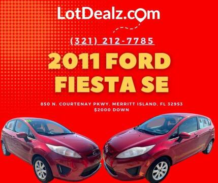 2011 Ford Fiesta for sale at ROCKLEDGE in Rockledge FL