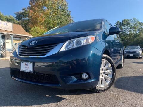 2012 Toyota Sienna for sale at Mega Motors in West Bridgewater MA