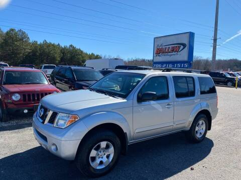 2006 Nissan Pathfinder for sale at Billy Ballew Motorsports in Dawsonville GA