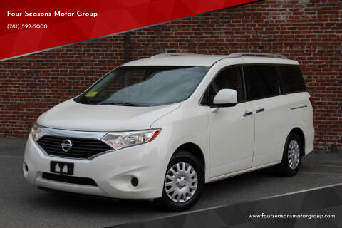 2012 Nissan Quest for sale at Four Seasons Motor Group in Swampscott MA