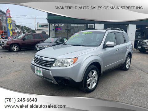 2010 Subaru Forester for sale at Wakefield Auto Sales of Main Street Inc. in Wakefield MA