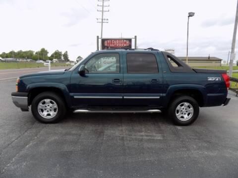 2005 Chevrolet Avalanche for sale at MYLENBUSCH AUTO SOURCE in O` Fallon MO