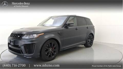 2018 Land Rover Range Rover Sport for sale at Mercedes-Benz of North Olmsted in North Olmsted OH