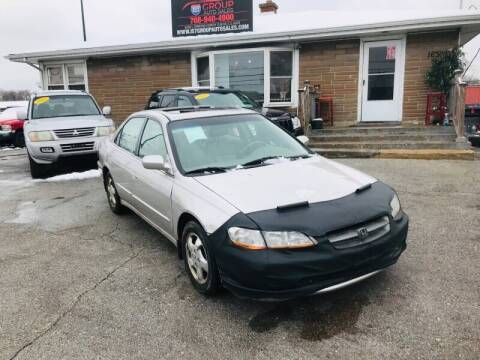 1998 Honda Accord for sale at I57 Group Auto Sales in Country Club Hills IL