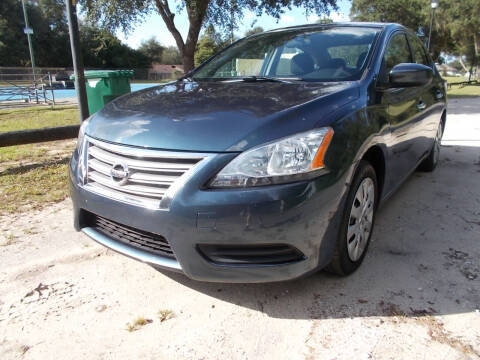 2014 Nissan Sentra for sale at LANCASTER'S AUTO SALES INC in Fruitland Park FL