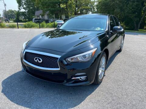 2017 Infiniti Q50 for sale at M4 Motorsports in Kutztown PA