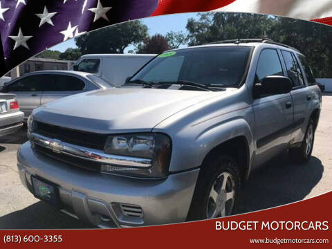2005 Chevrolet TrailBlazer for sale at Budget Motorcars in Tampa FL