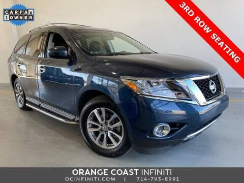 2015 Nissan Pathfinder for sale at ORANGE COAST CARS in Westminster CA