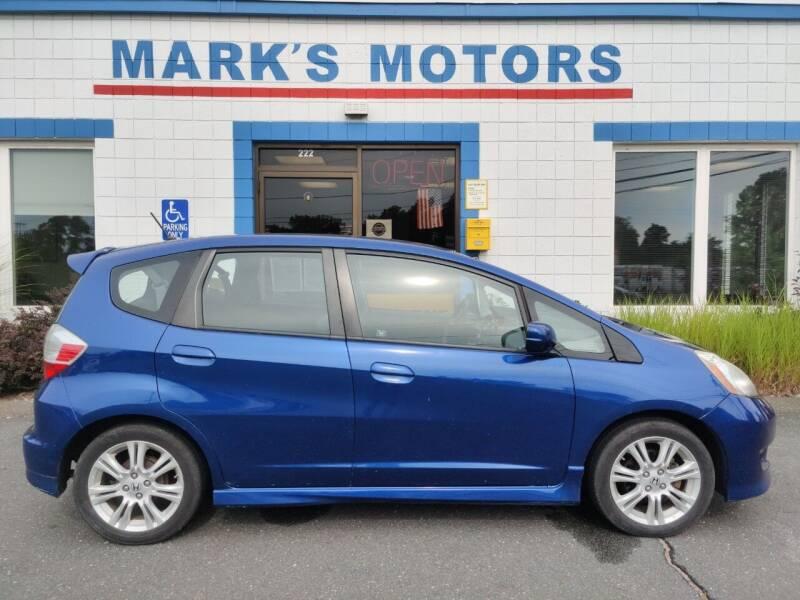2010 Honda Fit for sale at Mark's Motors in Northampton MA