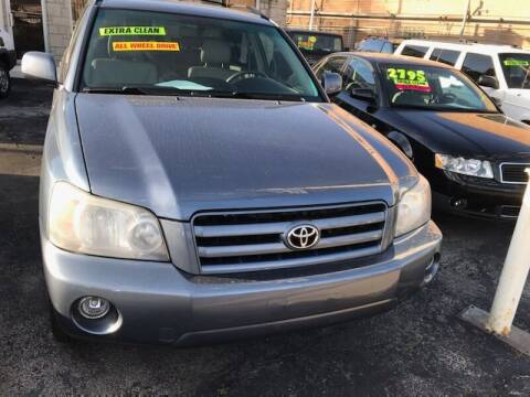 2007 Toyota Highlander for sale at GREAT AUTO RACE in Chicago IL