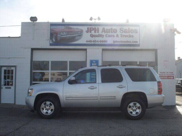 2013 Chevrolet Tahoe for sale at JPH Auto Sales in Eastlake OH
