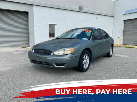 2006 Ford Taurus for sale at Mid City Motors Auto Sales - Mid City South in Fort Myers FL