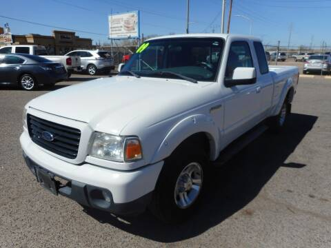 2009 Ford Ranger for sale at AUGE'S SALES AND SERVICE in Belen NM