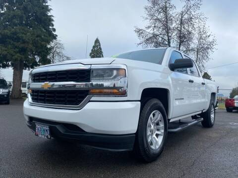 2018 Chevrolet Silverado 1500 for sale at Pacific Auto LLC in Woodburn OR