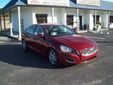 2013 Volvo S60 for sale at LONGSTREET AUTO in St Augustine FL