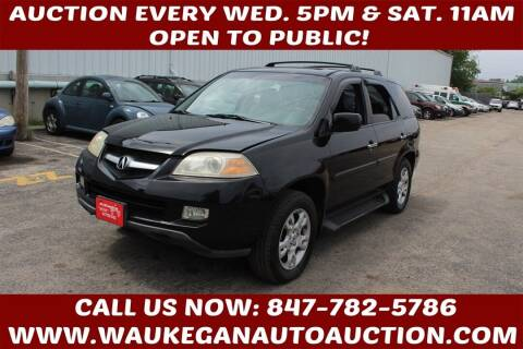 2004 Acura MDX for sale at Waukegan Auto Auction in Waukegan IL