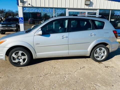2005 Pontiac Vibe for sale at Pioneer Auto in Ponca City OK