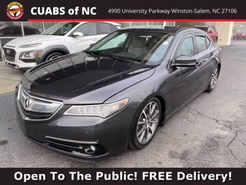 2015 Acura TLX for sale at Summit Credit Union Auto Buying Service in Winston Salem NC