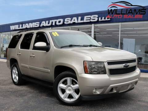 2008 Chevrolet Tahoe for sale at Williams Auto Sales, LLC in Cookeville TN