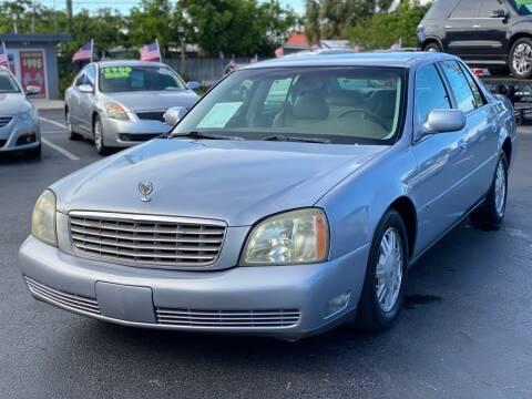 2005 Cadillac DeVille for sale at KD's Auto Sales in Pompano Beach FL