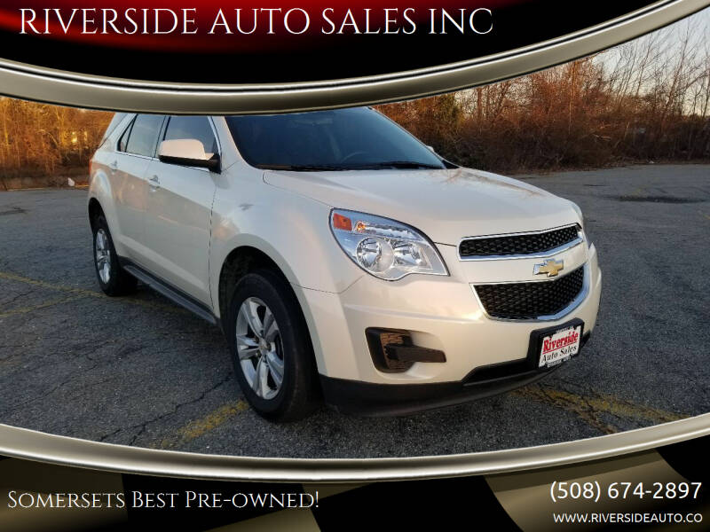 2014 Chevrolet Equinox for sale at RIVERSIDE AUTO SALES INC in Somerset MA
