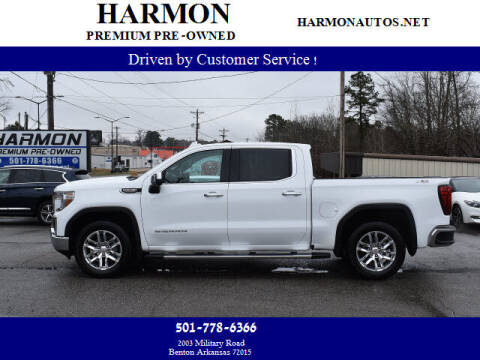 2019 GMC Sierra 1500 for sale at Harmon Premium Pre-Owned in Benton AR
